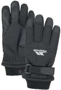 UNISEX TRESPASS WINTER SKI SNOW GLOVES  BLACK ORANGE YELLOW BLUE AGE 2-16 Kids' Clothes, Shoes & Accs. Gloves & Mittens