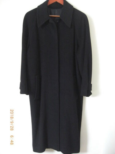 Wool Tall Uk Black M City Seams Hand 12 Lux Stitched Long 10 Fits Coat Hobbs zxBAtn7w