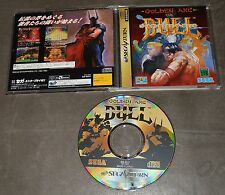 GOLDEN AXE THE DUEL - 2d FIGHTING VERSUS GAME - SEGA SATURN IMPORT JAPAN