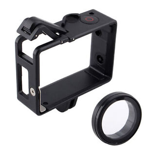 Border-Frame-Standard-Protective-Housing-for-GoPro-Hero-4-3-amp-UV-Protector-SN