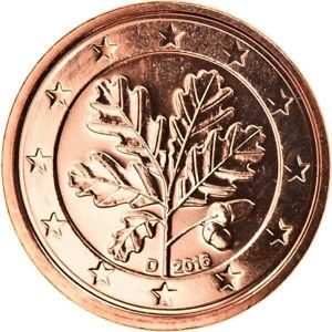 [#796883] République fédérale allemande, Euro Cent, 2016, Munich, FDC, Copper Pl