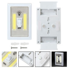Official Website 2-pack Multi-use Led Wall Night Lighted Switch Wireless Self-stick Light Night Lights Lamps, Lighting & Ceiling Fans White Goods Of Every Description Are Available