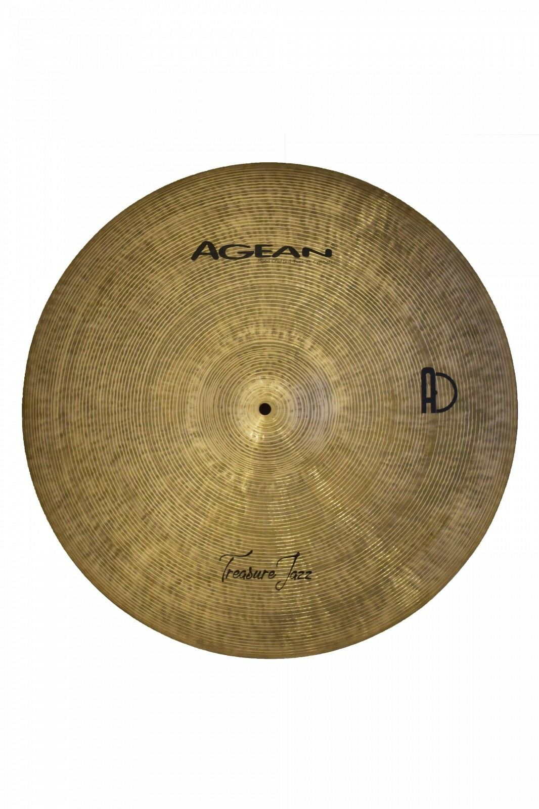 Agean Cymbals 19-inch Treasure Jazz Ride Medium