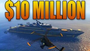 Details about (PS4 ONLY) GTA V PS4 Grand Theft Auto Online $10,000,000  (Mission)