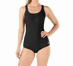 Speedo-Women-Swimwear-Black-12-PowerFlex-Ultraback-Conservative-Swimsuit-68-577
