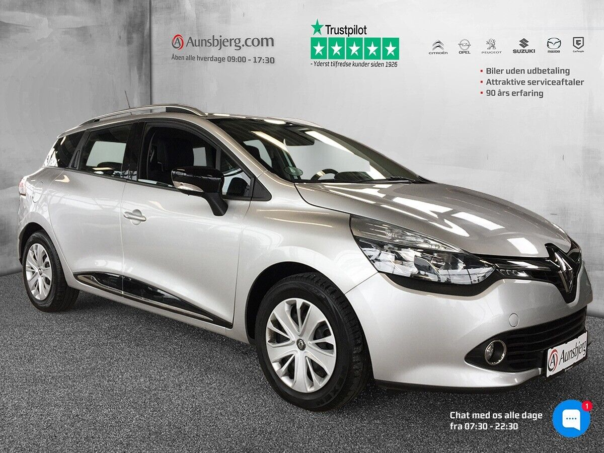 Renault Clio IV 0,9 TCe 90 Expression ST 5d - 107.500 kr.