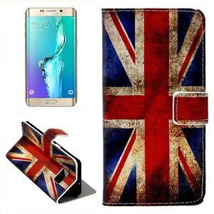 Portafoglio-Deluxe-Motivi-Borsa-9-Per-Samsung-Galaxy-S6-Bordo-Plus-G928-Custodia