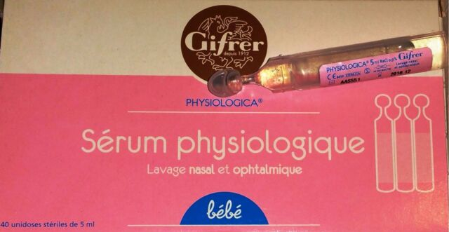 Physiologica Sérum Physiologique 40 Unidoses