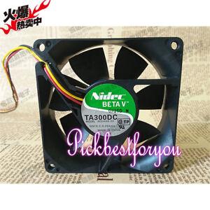 1 PCS Nidec Fan UltraFlo U92T12MUB7-52 DC 12V 0.25A 3 Pin 90x90x25mm