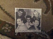 B2-3 ephemera 1963  picture the tornados release globetrotter