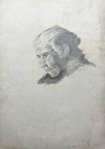 Dibujo-retrato-anciana-abuela-con-mirada-alinea-de-1941-29-4-x-41-8