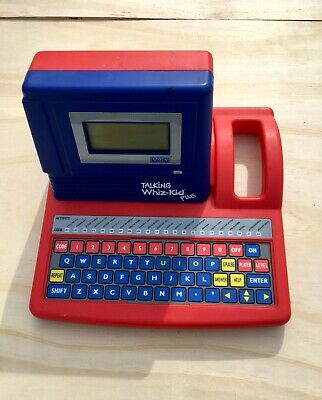 VTech Talking Whiz Kid Plus Vintage (1990) Educational Toy ...