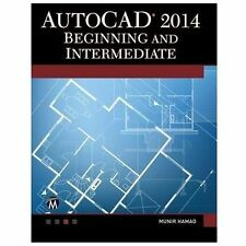 AutoCAD 2014 Beginning and Intermediate, printed, Hamad, Munir, Very Good, 2013-