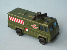 Matchbox Commando Command Vehicle Green Army Rescue Military Toy Model Car