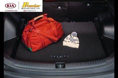 Connected Essentials CEB650 Car Mat Set for Mitsubi Lancer Sportback 2010-Onwards Premium Bootmat Black with Blue Trim