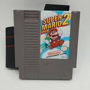 Super Mario Bros. 2 NES Nintendo Entertainment System 1988 Cart Only with Sleeve
