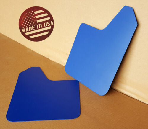 NO HARDWARE 04-16 Mazdaspeed 3 /& Mazda 3 Mud Guard Flaps STARTER Set BLUE SR