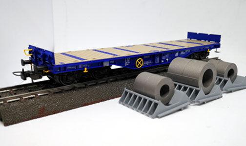 "TILLIG H0 76749 – Carro Plattform Sgmmns4505 mit Coils    D-ERR "" – EP. VI fc1ede"