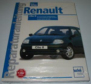 Reparaturanleitung-Renault-Clio-II-Typ-B-Benzin-Diesel-1998-2001-2002-NEU