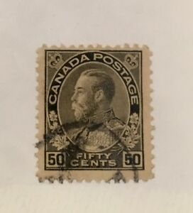 Canada-Scott-120a-KGV-Fiftyt-Cent-Used