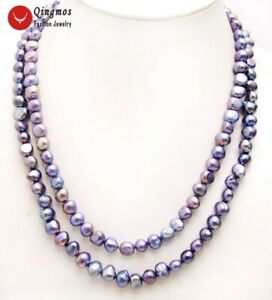 Long-40-034-Natural-Black-8-9mm-Baroque-Freshwater-Pearl-Necklace-for-Women-nec6156