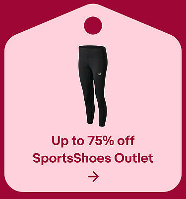 Up to 75% off SportsShoes Outlet