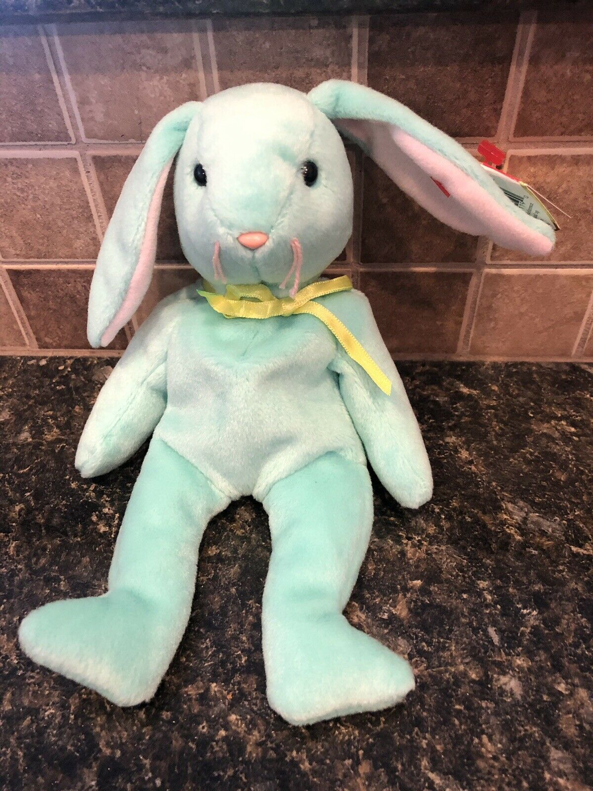 Ty Beanie Babies Hippity the Bunny Rare With Errors. Great For Easter
