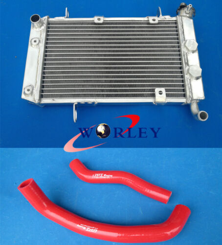Aluminum Radiator /& Hose for SUZUKI LTZ400 KFX400 DVX400 2003-2008 04 05 06 07
