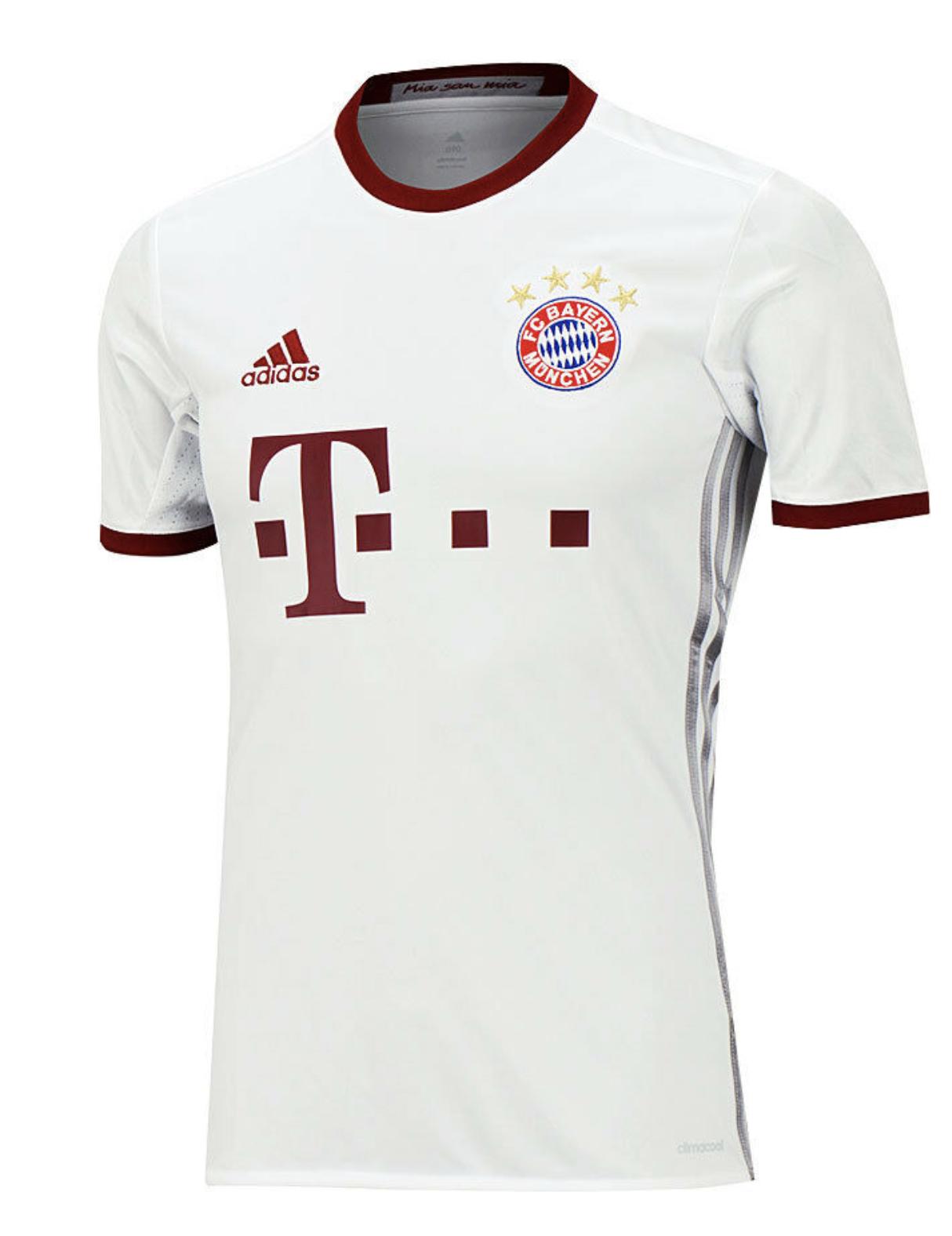 adidas Men's Bayern Munich Third Jersey 2016 17 Az4663 for sale ...