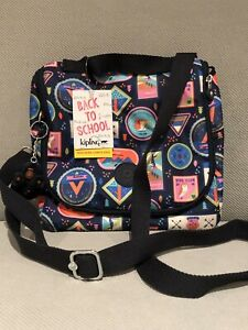 Kipling-Kichirou-Insulated-Lunch-Box-Crossbody-Messenger-Bag-Wandering-Roads-New