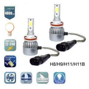 Cree-LED-Headlight-Kit-H8-H9-H11-900W-135000LM-6000K-Low-Beam-Fog-Bulb-HID-White