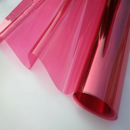 Multi-color Decoration solar tint Glass Window Solar Film Decoration A4 size