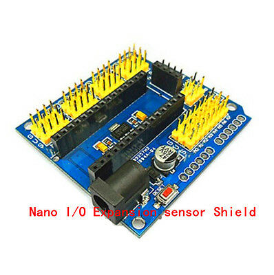 New NANO I/O Expansion Sensor Shield for Arduino UNO Nano 3.0 Duemilanove 2009