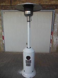 Terrassenstrahler Heizstrahler Heizpilz Gartenheizung Gas 15 Kw