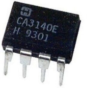 HAR CA3140E DIP-8 4.5MHz BiMOS Operational Amplifier with