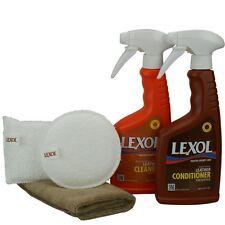 Lexol Lederpflege Set Lederreinigung & Lederpflege 2x 500 ml