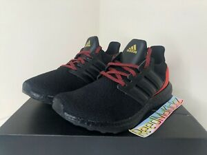 Details about Adidas Ultra boost DNA Black Orange Red Mens FW4899