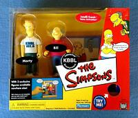 Kbbl Radio Station Environment Marty Bill The Simpsons Wos Playmates Figures