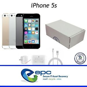Apple-iPhone-5S-16GB-32GB-64GB-CDMA-GSM-Gray-Silver-Gold-GRADE-A-C