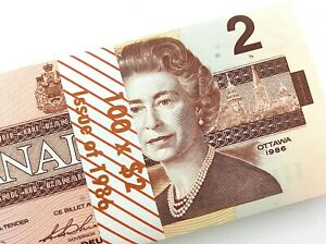 1986-Canada-2-Dollar-Uncirculated-CBK-Bonin-Thiessen-Banknote-Bundle-of-100-M964