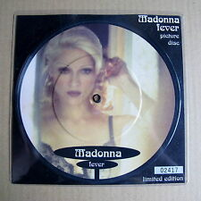 """Madonna Fever Un-played 7"""" Picture Disc with numbered insert (05785)"""