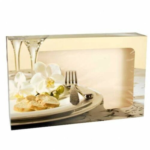 5 Transportkartons und Catering Kartons für kaltes Buffet mit Sichtfenster