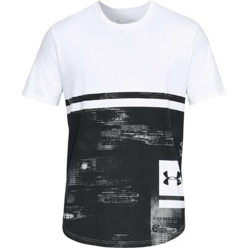 Under Armour Sportstyle Print Graphic T-Shirt Short Sleeve Shirt 1318568-100