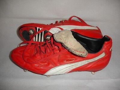PUMA KING III RED SG FOOTBALL BOOTS | eBay