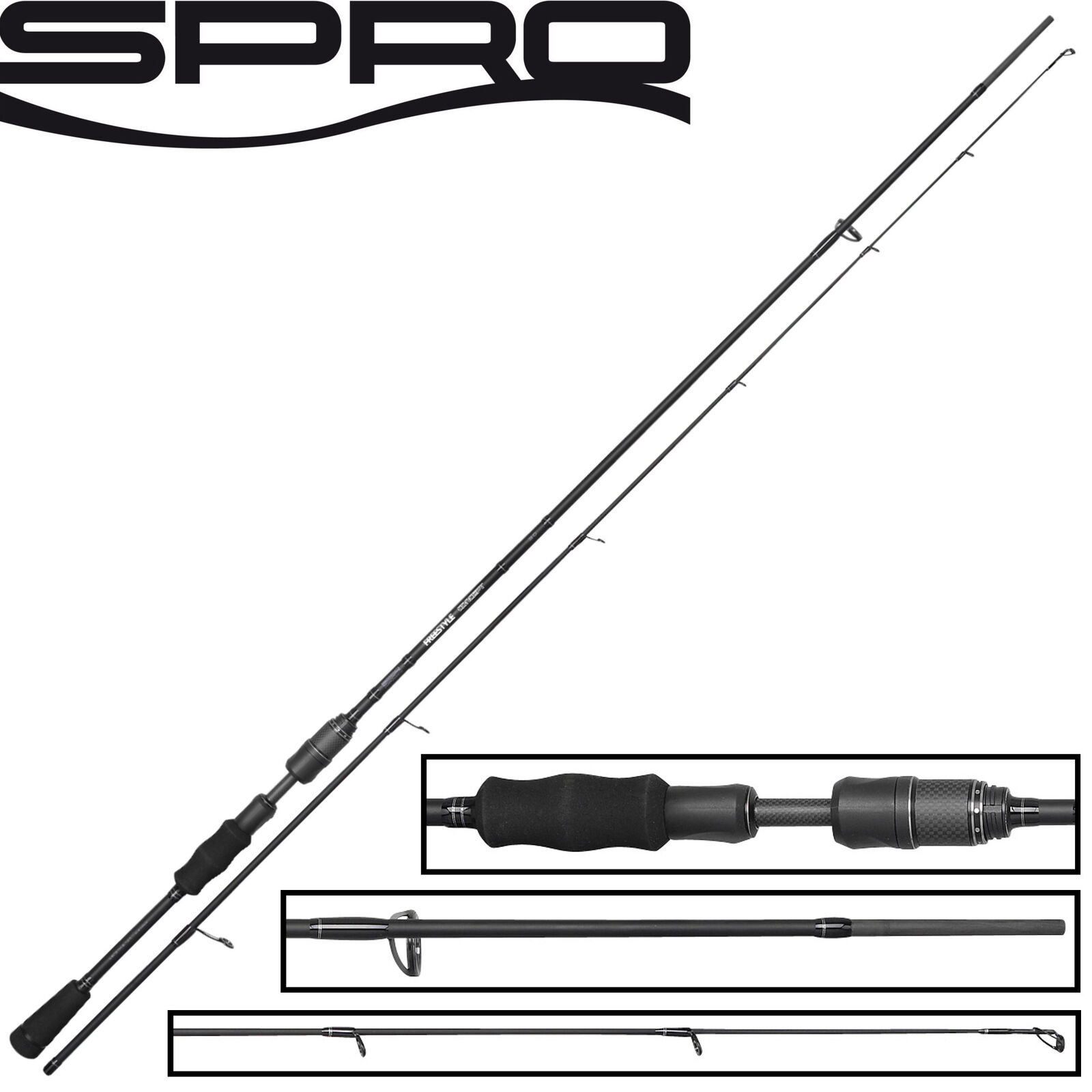 Spro Freestyle Concept Jig Spin 30 2,40m 5-20g - Spinnrute, Barschrute, Jigrute