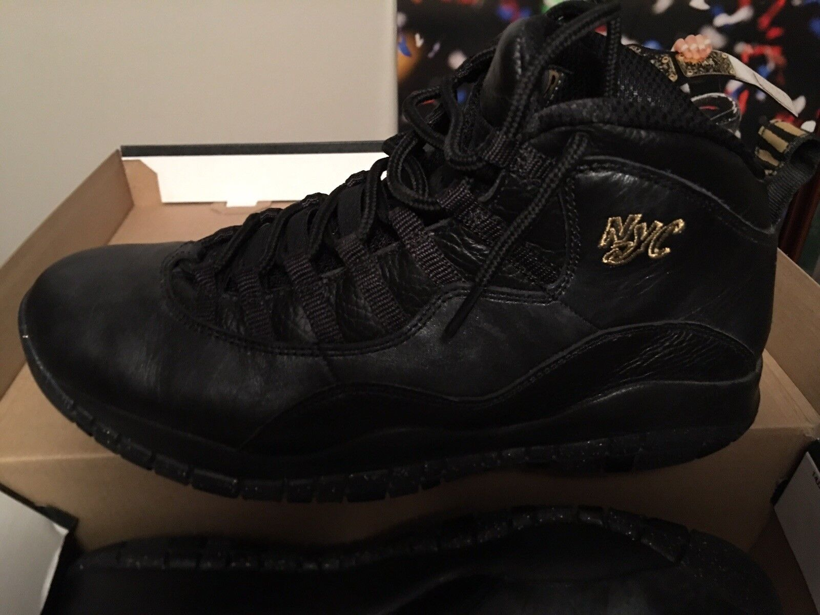 NEW Air Jordan X 10 Retro NYC NEW YORK CITY PACK BLACK GREY 310805-012 Price reduction Comfortable and good-looking
