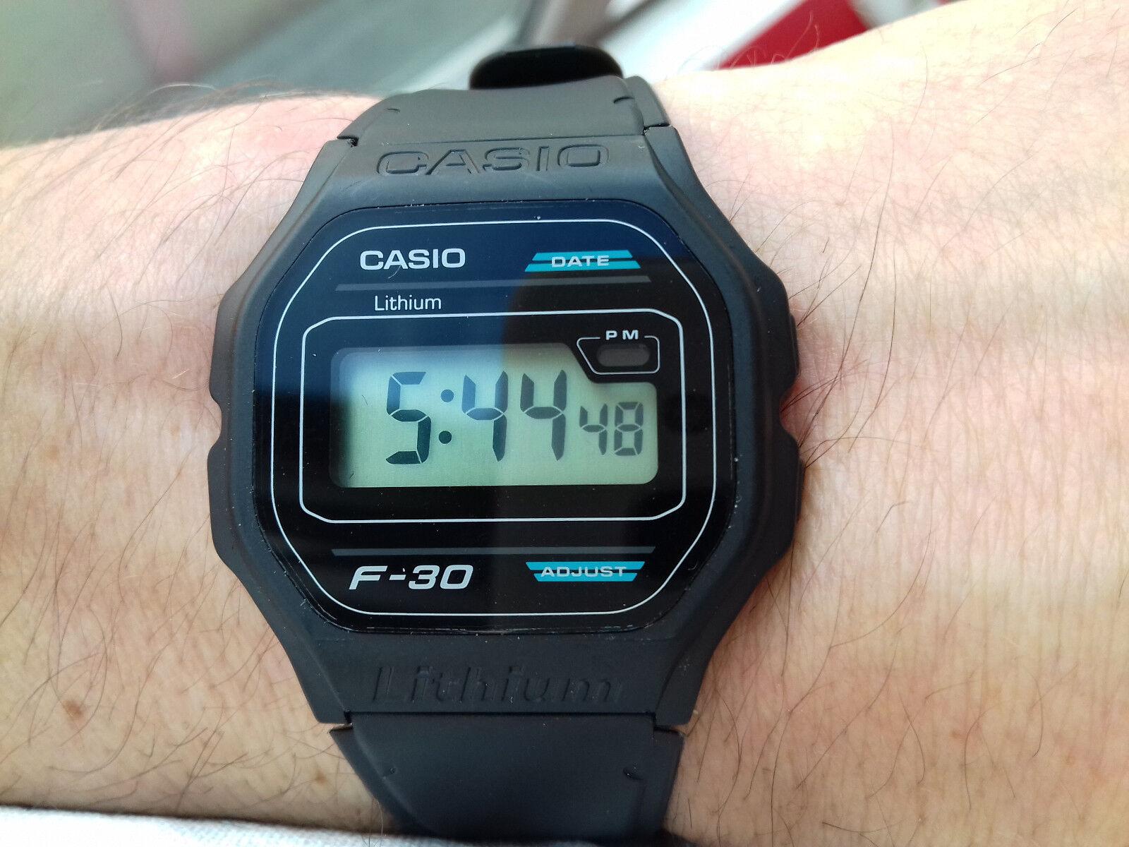 dd1dc50e73aa Casio VINTAGE COLLECTION F-30 MODULE 1007 NOS WATCH MONTRE ...