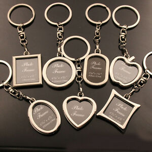 Your-Memory-Insert-Photo-Picture-Mini-Frame-Keyring-Alloy-Key-Chain-Pendant-New