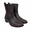 thumbnail 3 - Frye Cara Short Ankle Boot Bootie in Smoke Brown Leather Western Riding Size 9.5
