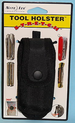 TOOL HOLSTER STRETCH MULTITOOL HOLDER POUCH CAMPING HUNTING LEATHERMAN BUCK SOG
